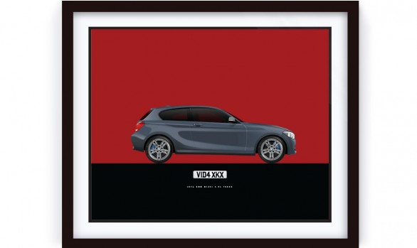 BMW M135i Illustration