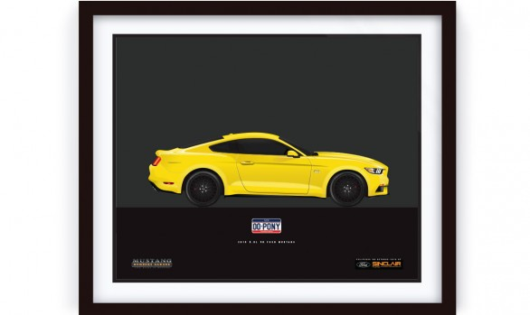 2015 Mustang Illustrated