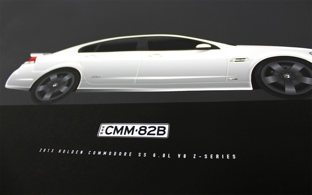 Holden SS Z-Series Illustration
