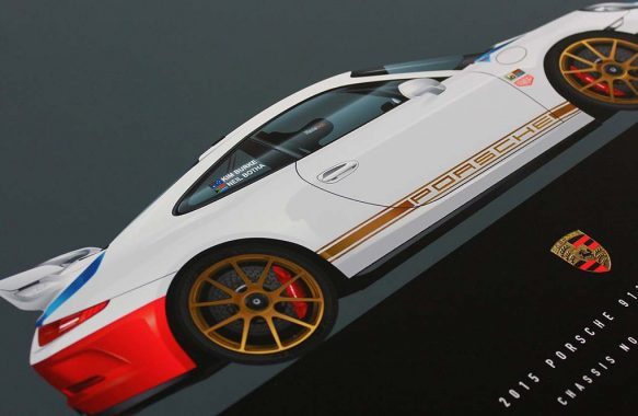 Porsche 911 GT3 Mangus Walker Edition Illustration by 1-of-1.com.au