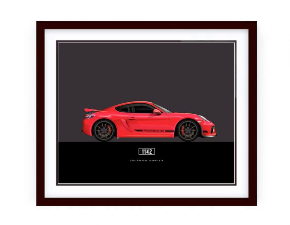 Custom made illustration by www.1-of-1.com.au automotive artworks