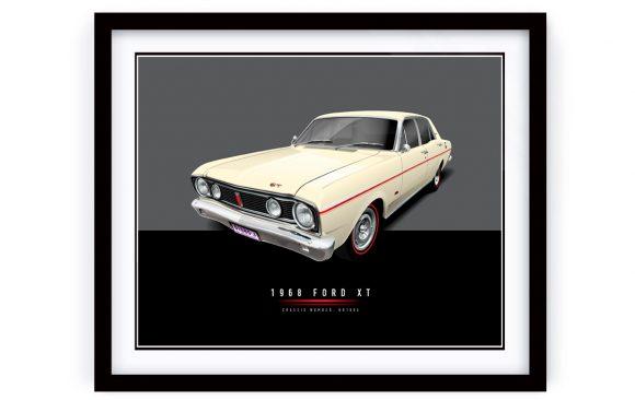 1968 FORD XT Framed