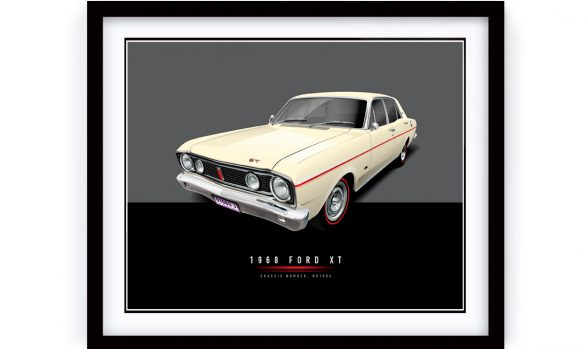 1968 FORD XT Framed